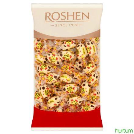 Roshen Ko-Ko Choco fehércsokoládé vanília krémmel 1kg (kb. 70 db)