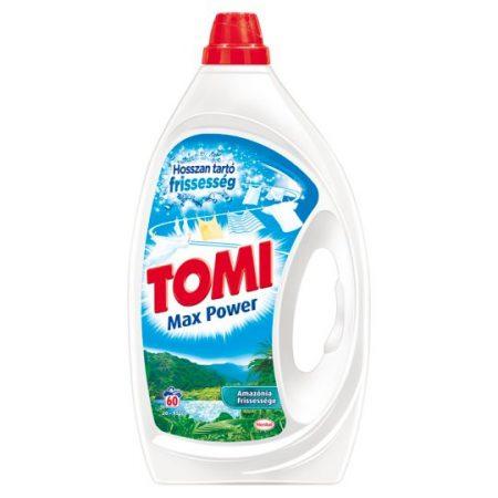 Tomi Max Power Amazónia Frissessége mosószer fehér és világos textíliákhoz 60 mosás 3 l