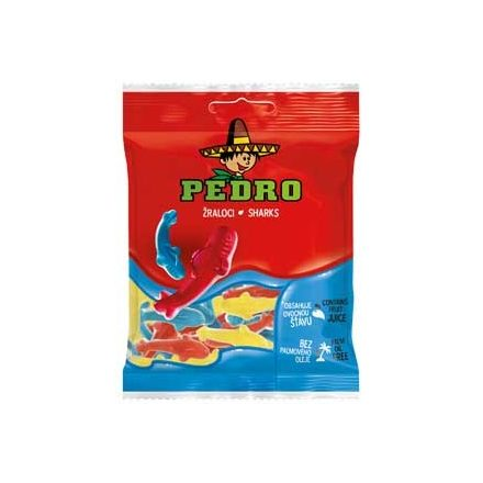 Pedro gumicukor cápa 80g