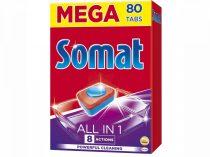 Somat mosogatótabletta All in 1 80db-os
