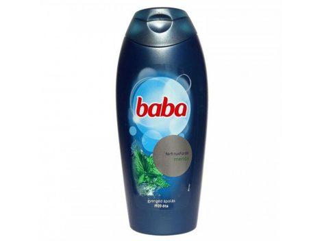 Baba tusfürdő férfi menta 400ml