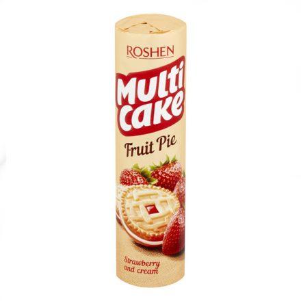 Roshen Multicake keksz Eper 180g