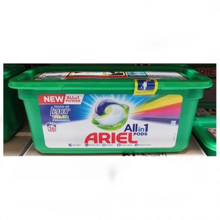 Ariel Pods Touch of Lenor Color 26db-os