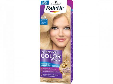 Palette krémhajfesték E20 ultra világos szőke
