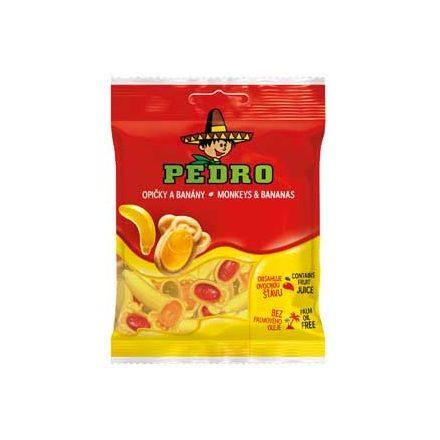 Pedro gumicukor 80g monkey & bananas