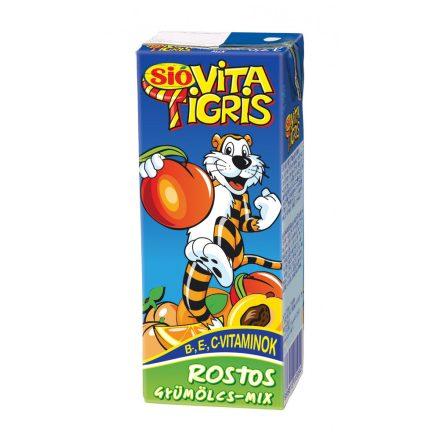 Sió Vitatigris rostos gyümölcsmix 25%  27 x 0,2l