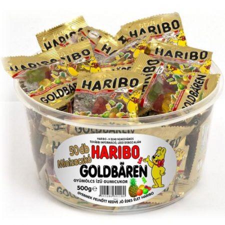 Haribo gumicukor Goldbaren minis (25x10g) 225g