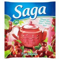 Saga Gyümölcstea Meggy ízű 34g