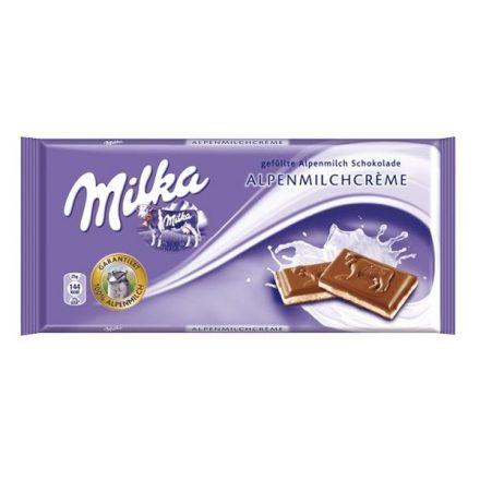 Milka Alpine Milk Cream 100g
