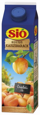 Sió Rostos Kajszibarack 25% 12 x 1l