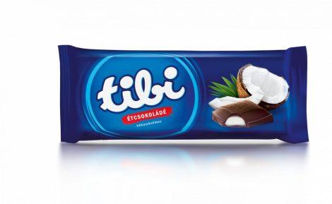 Tibi Étcsokoládé Kókuszkrémes 97g