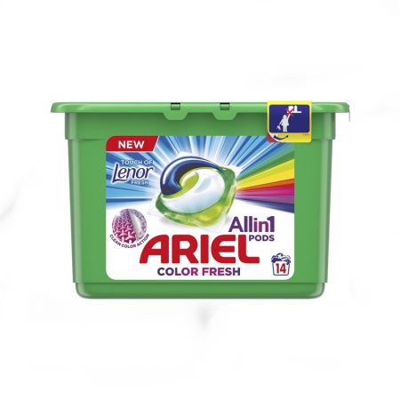 Ariel Pods Touch of Lenor Color Fresh 14db-os